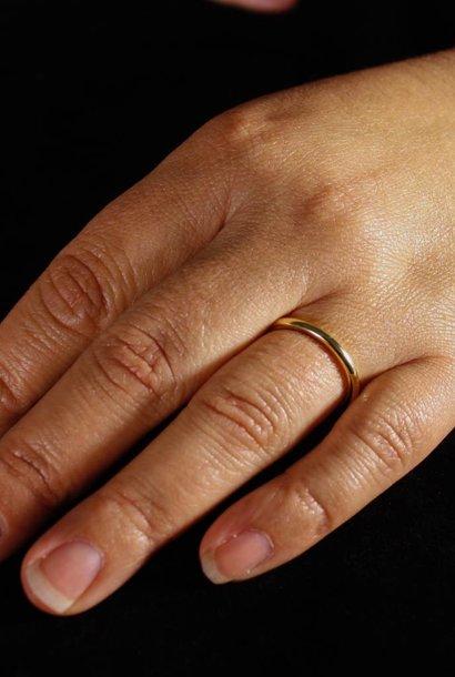 Ring ZONNEBLOEM, goud