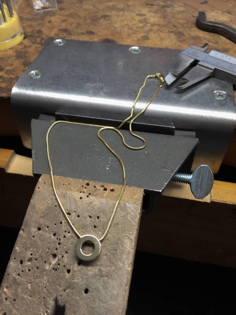 Hanger KRACHT, zilver-5