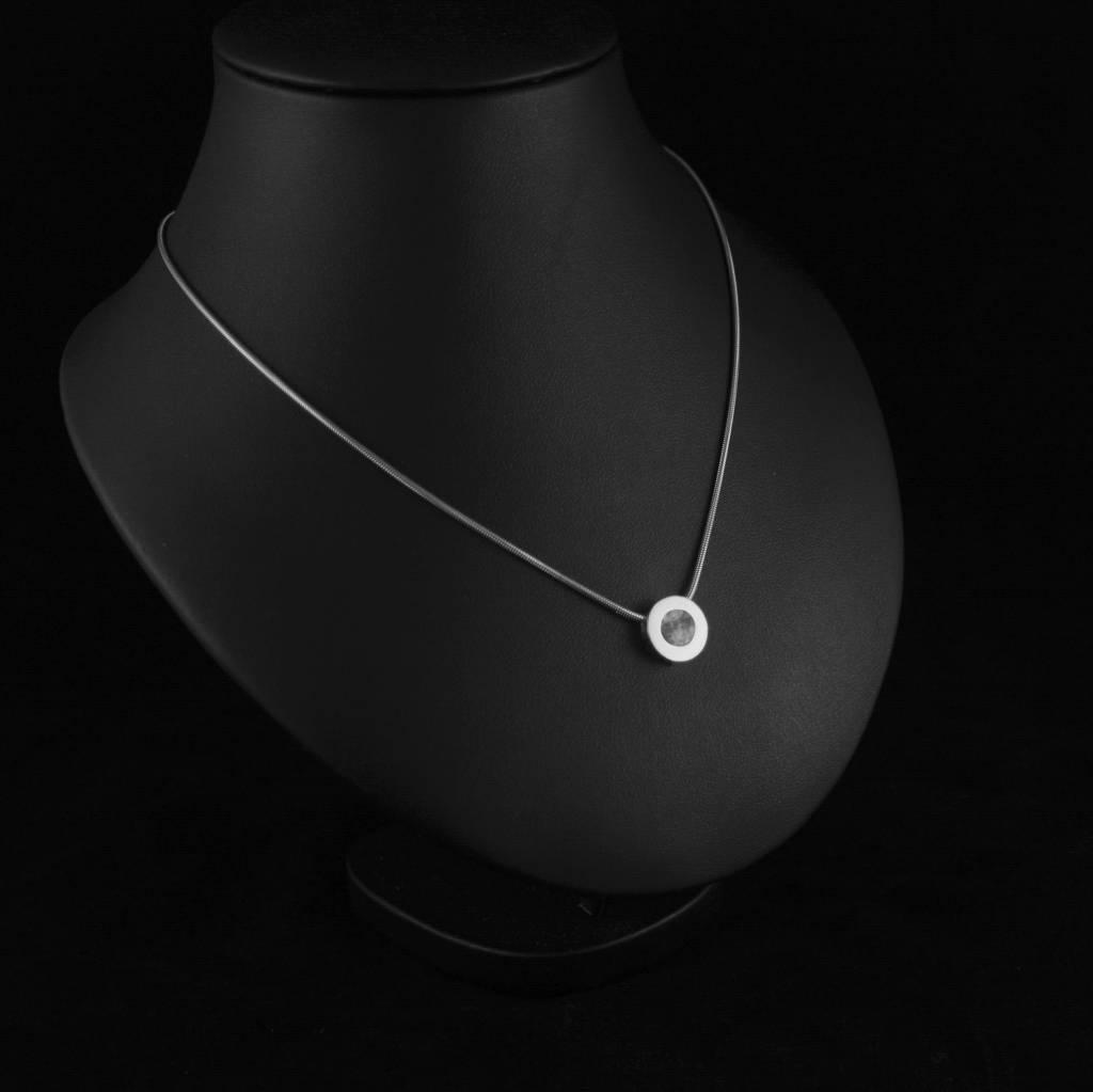 (As)hanger KRACHT, zilver-2