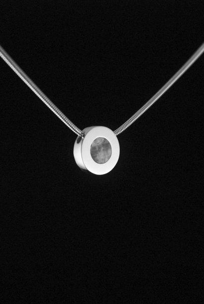 Zilveren ashanger KRACHT