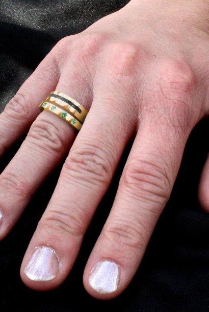 (As)ring LIEFDE, goud
