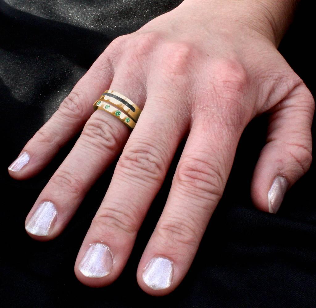 (As)ring LIEFDES, goud-3