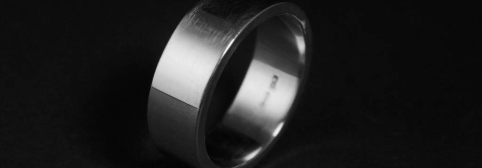 Ring FLAT, zilver