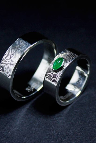 Zilveren trouwring PUURTROUW