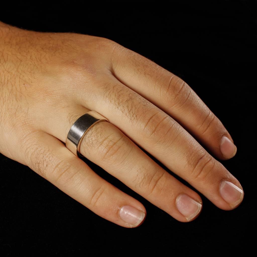 Ring VLAK, zilver-2