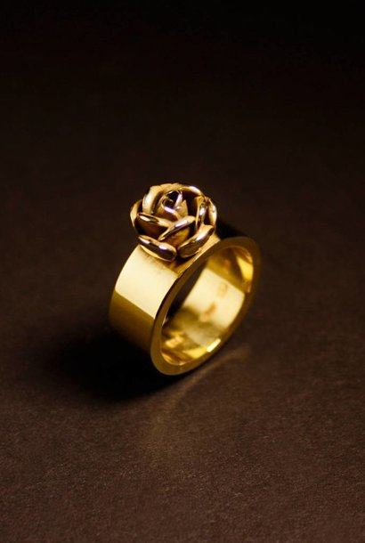 Ring ROSE, goud