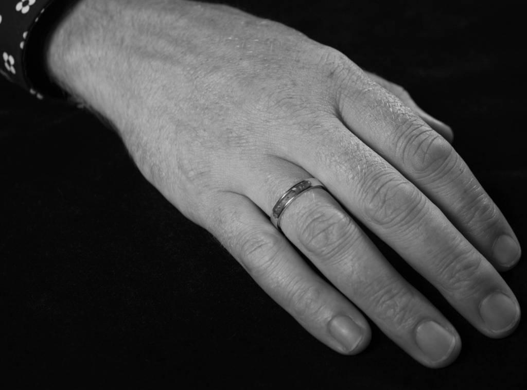(As)ring DIERBAAR, zilver-2