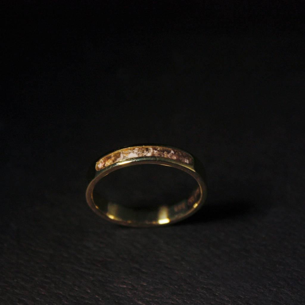 (As)ring DIERBAAR, goud-5