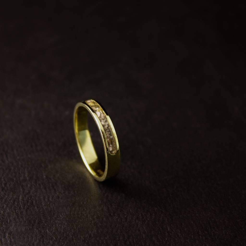 (As)ring DIERBAAR, goud-2