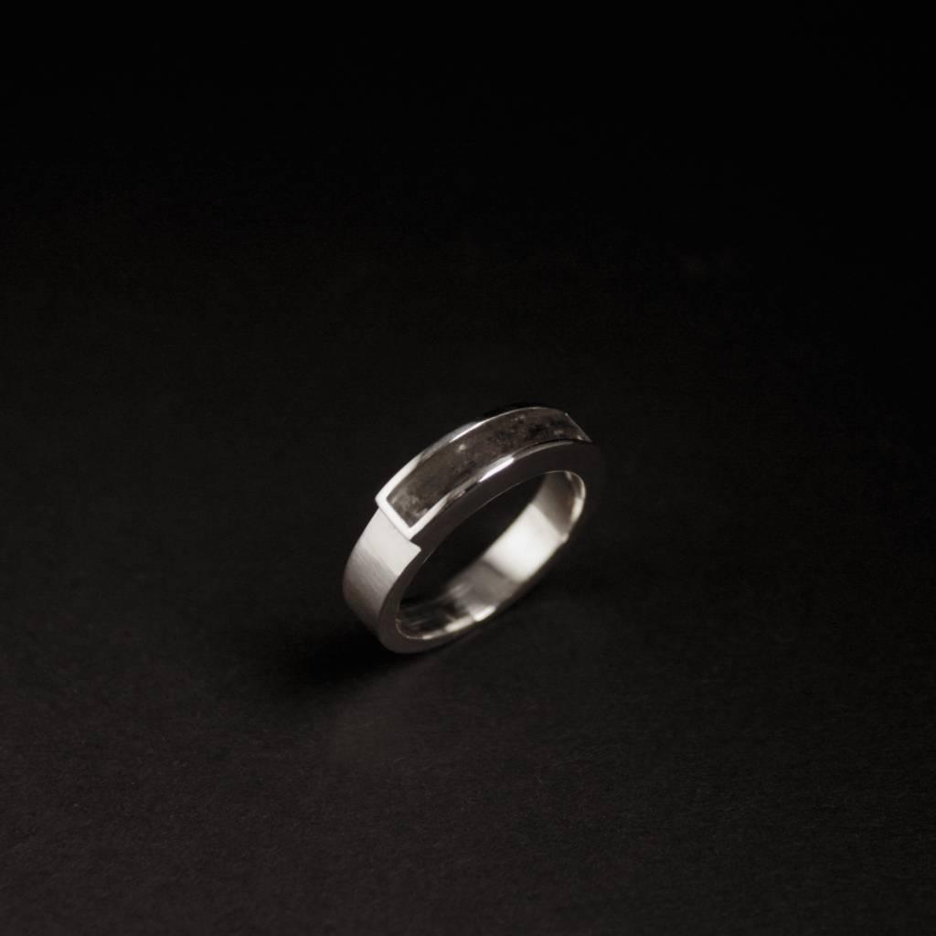 (As)ring MEMORIE, zilver-2