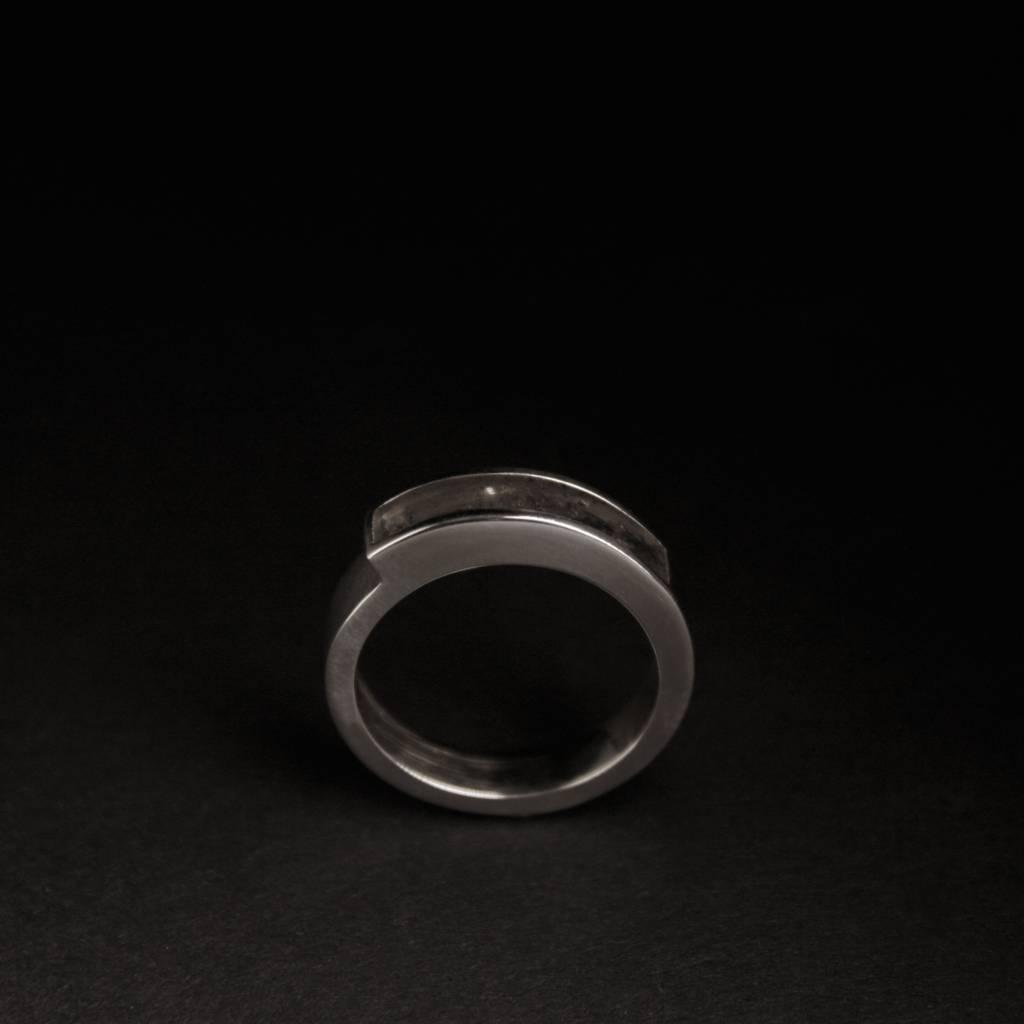 (As)ring MEMORIE, zilver-5