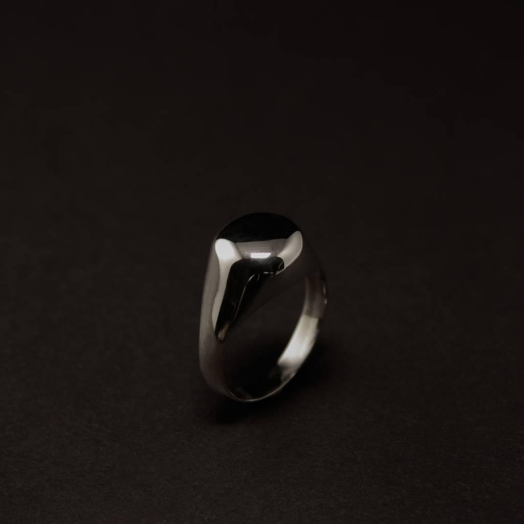 (As)ring RONDO, zilver-2