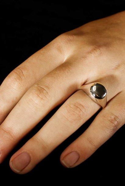 Ring RONDO, zilver