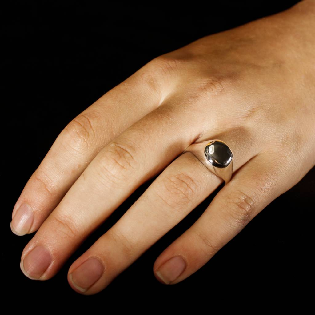 (As)ring RONDO, zilver-1