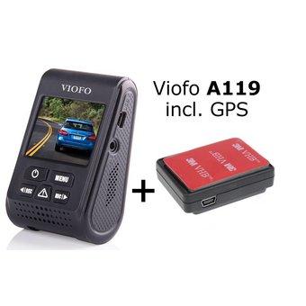 Viofo dashcam A119 (V2), incl. GPS en Nederlandse handleiding