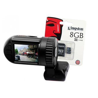 BR-H818 Mini Dashcam, Full HD, met GPS, G-sensor en 8Gb Micro-SD kaart