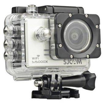 SJCAM SJ5000x Elite Sony IMX078 Gyro 4K@24fps 2K Action Camera in Zwart of Silver