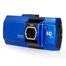 Dashcam D2000 in blauw, Full HD, Nachtzicht, G-sensor, 2,7 inch LCD Scherm