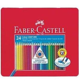 Faber Castell Farbstifte Colour Grip 2001 24er Blechetui