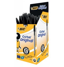 BiC Kugelschreiber Cristal schwarz