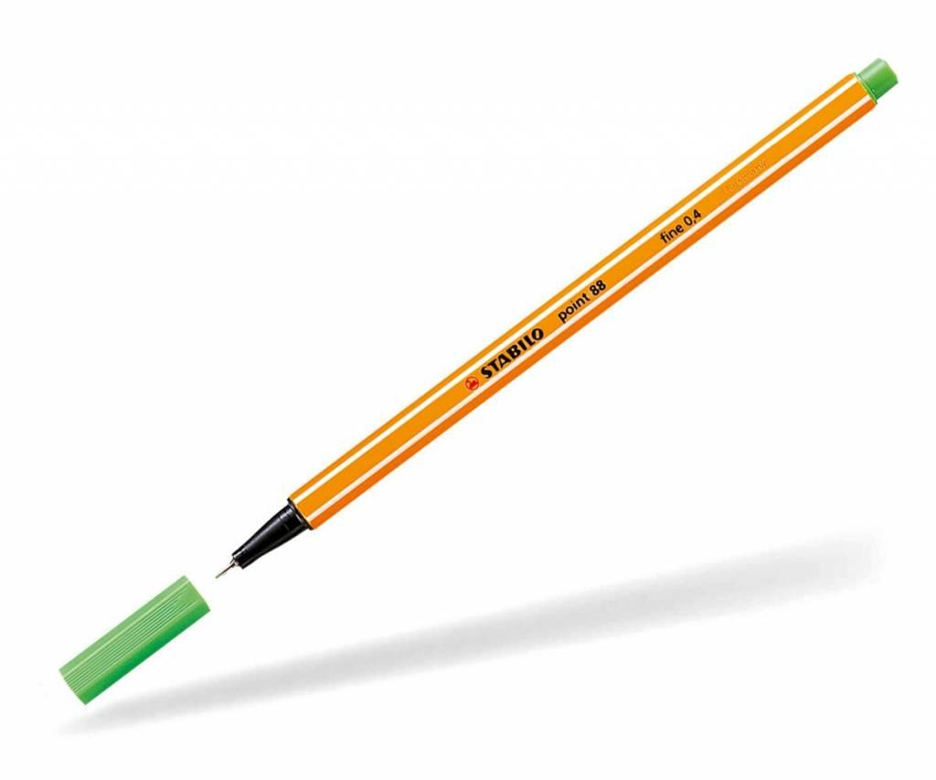 Stabilo Fineliner point 88 hellgrün
