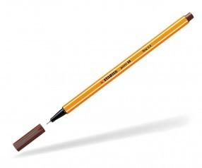 Stabilo Fineliner point 88 braun