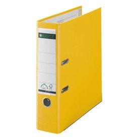 Leitz Qualitäts-Ordner 180° Plastik A4, 80 mm, gelb