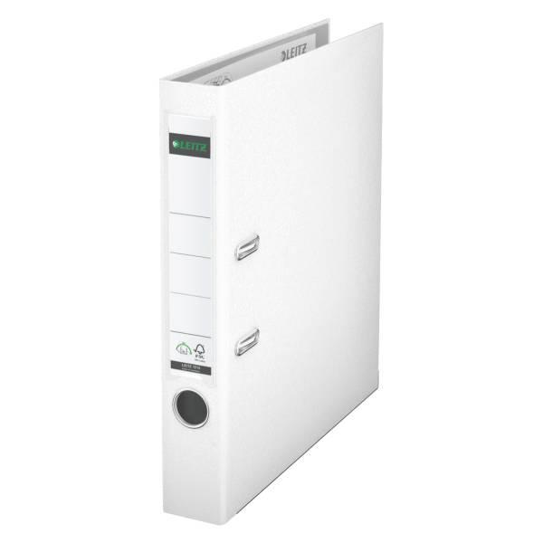 Leitz Qualitäts-Ordner 180° Plastik A4, 52 mm, weiß
