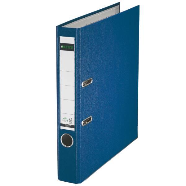 Leitz Qualitäts-Ordner 180° Plastik A4, 52 mm, blau