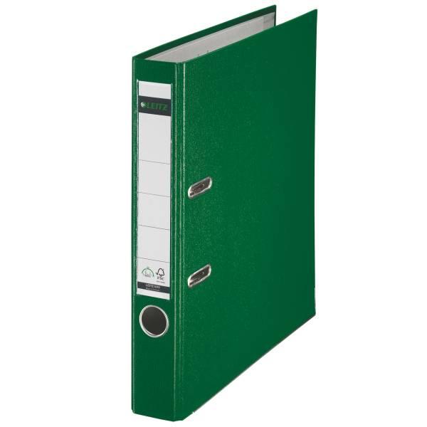 Leitz Qualitäts-Ordner 180° Plastik A4, 52 mm, grün