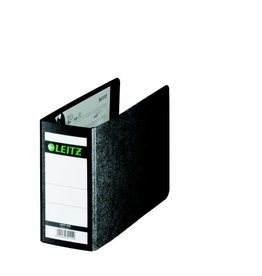 Leitz Qualitäts-Ordner Hartpappe A6 quer, 80 mm