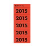 Leitz Inhaltsschilder, selbstklebend, Jahreszahl 2015, 100 Stück