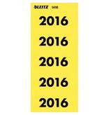 Leitz Inhaltsschilder, selbstklebend, Jahreszahl 2016, 100 Stück
