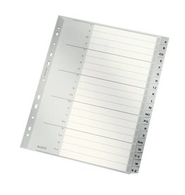 Leitz Plastik-Register A-Z, volle Höhe, 20 Blatt
