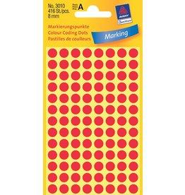 Avery Zweckform Markierungspunkte 8mm, rot