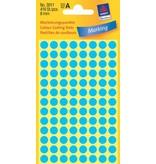 Avery Zweckform Markierungspunkte 8mm, blau