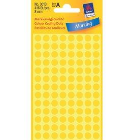 Avery Zweckform Markierungspunkte 8mm, gelb
