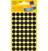 Avery Zweckform Markierungspunkte 12mm, schwarz