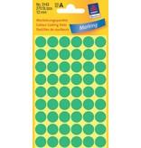 Avery Zweckform Markierungspunkte 12mm, grün