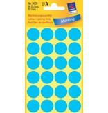 Avery Zweckform Markierungspunkte 18mm, blau