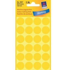Avery Zweckform Markierungspunkte 18mm, gelb