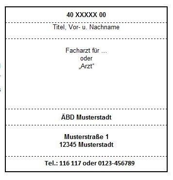 ÄBD Stempelplatte