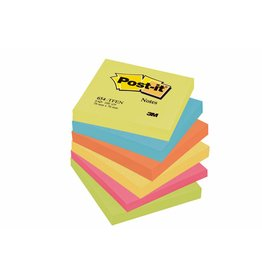 Post-it Haftnotizen Rainbow Active, 76 x 76 mm, 6x 100 Blatt