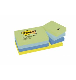 Post-it Haftnotizen Rainbow  Dreamy, 51 x 38 mm, 12x 100 Blatt