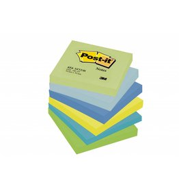 Post-it Haftnotizen Rainbow Dreamy, 76 x 76 mm, 6x 100 Blatt
