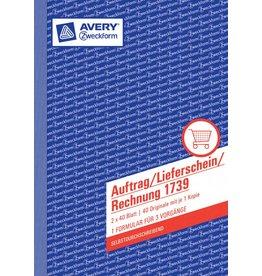 Avery Zweckform Auftrag/Lieferschein/Rechnungsformular DIN A5