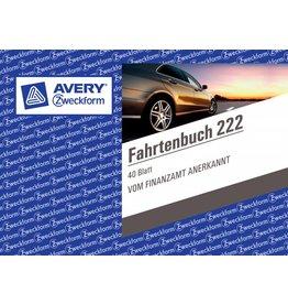 Avery Zweckform Fahrtenbuch DIN A6 quer