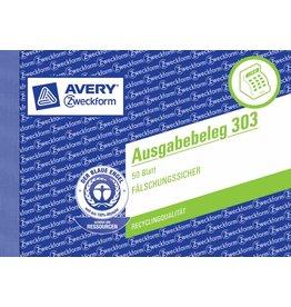 Avery Zweckform Ausgabebeleg DIN A6 quer