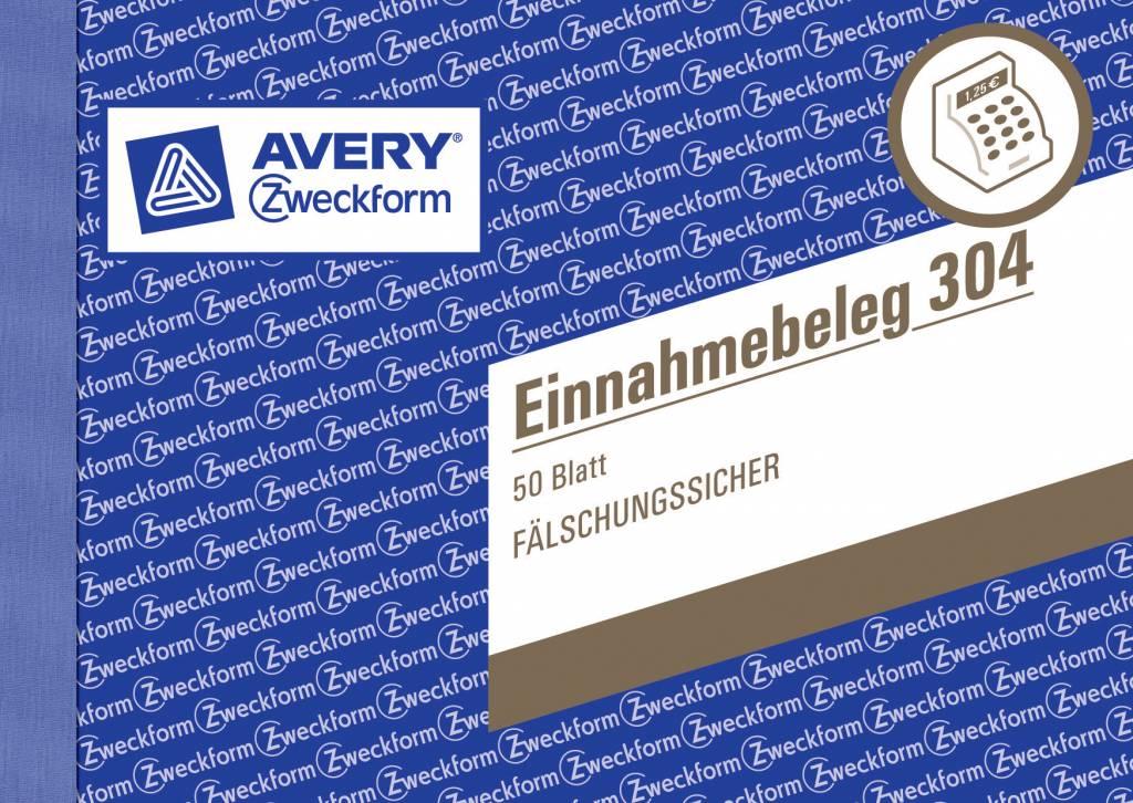 Avery Zweckform Einnahmebeleg DIN A6 quer