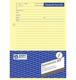 Avery Zweckform Gesprächsnotizbuch DIN A5